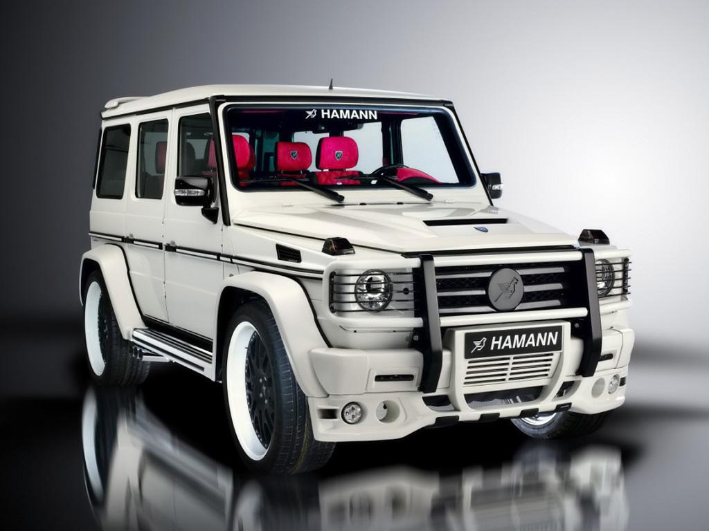 飞马极品越野车 Hamann改装奔驰G55 AMG高清图片