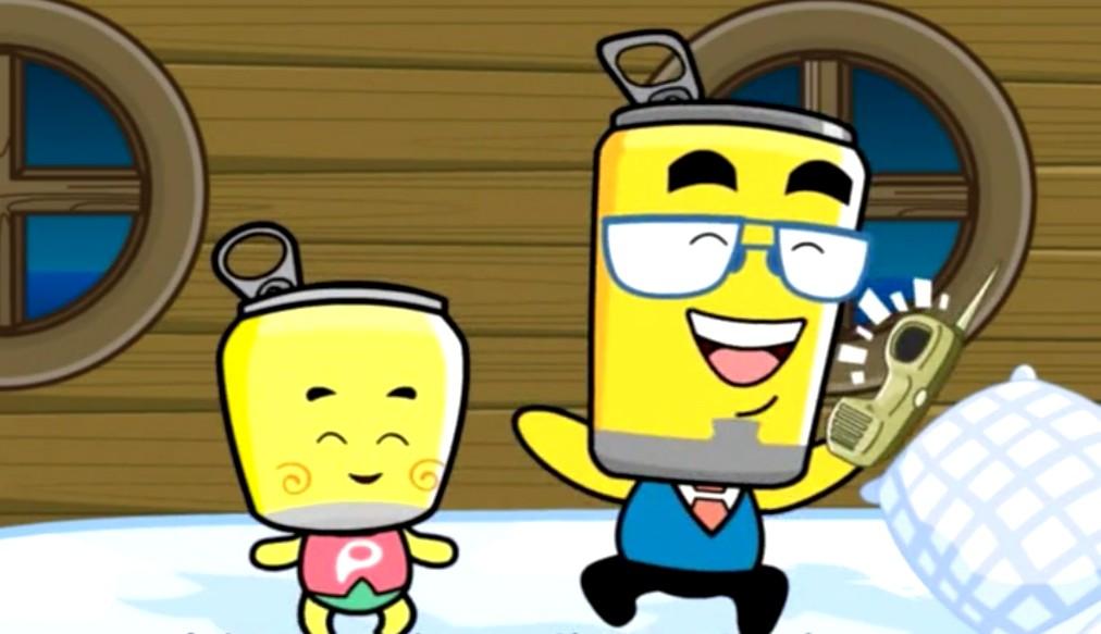 《哈皮父子与水金刚》是由无锡哈皮动画公司和江苏广电影视动漫传媒公司联合制作出品。该系列动画片已出品2部,在国内中央电视台和地区台连续播出后反响强烈。此次戛纳秋季国际电视节上推出的是《哈皮父子与水金刚》系列3,剧情故事以保护水资源为主题,塑造了水金刚形象,他是一个纯净可爱的泉眼精灵,由于人类造成的环境污染和无节制使用,变得性情暴戾。水金刚的变化让人们懂得了保护自然、保护水资源的重要,知错悔改,开始行动。